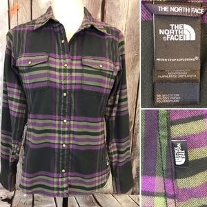 The North Face Snap Down Flannel Shirt